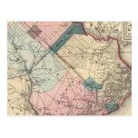 El condado de Atlantic, NJ Tarjeta Postal
