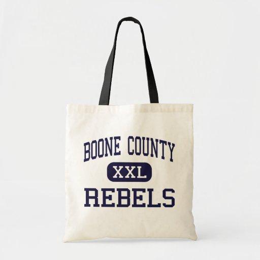 El condado de Boone - rebeldes - alto - Florencia  Bolsas De Mano