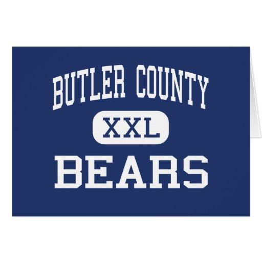 El condado de Butler lleva Morgantown medio Tarjeton