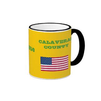 El CONDADO DE CALAVERAS * taza de café
