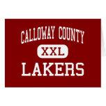 El condado de Calloway - Lakers - altos - Murray K Felicitaciones