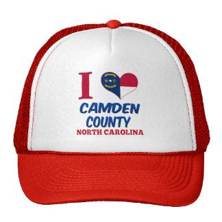 El condado de Camden, Carolina del Norte Gorro