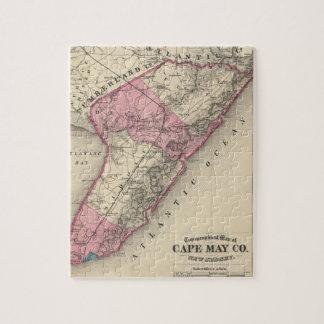El condado de Cape May, NJ Puzzle