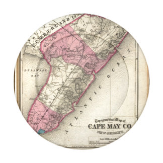 El condado de Cape May, NJ Paquete Pequeño De Tapabotones