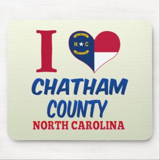 El condado de Chatham Carolina del Norte Alfombrillas De Raton
