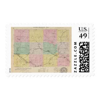 El condado de Chautauqua, Kansas Franqueo