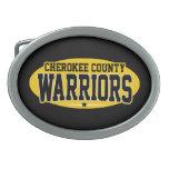 El condado de Cherokee; Guerreros Hebillas Cinturon