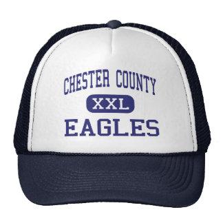 El condado de Chester - Eagles - joven - Henderson Gorras