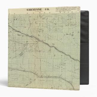 """El condado de Cheyenne, Nebraska Carpeta 1 1/2"""""""