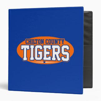 """El condado de Chilton; Tigres Carpeta 1 1/2"""""""