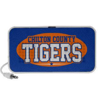 El condado de Chilton; Tigres iPod Altavoces