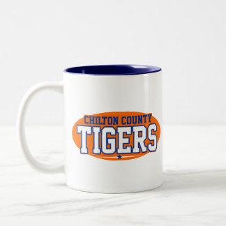 El condado de Chilton; Tigres Taza Dos Tonos