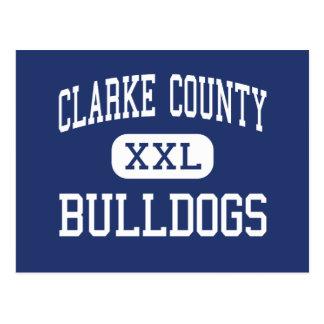 El condado de Clarke - dogos - alto - colina de la Postales