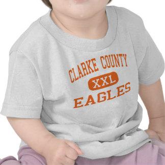 El condado de Clarke - Eagles - altos - Berryville Camiseta