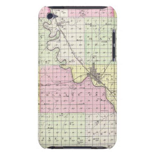 El condado de Clay, Kansas iPod Case-Mate Carcasas