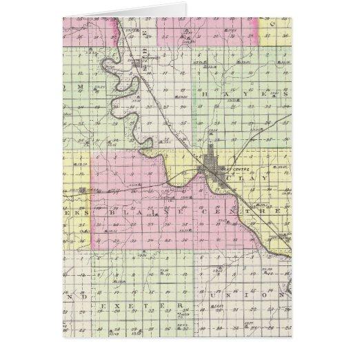 El condado de Clay, Kansas Tarjeta De Felicitación