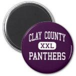 El condado de Clay - panteras - alto - Ashland Ala Iman De Nevera