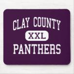 El condado de Clay - panteras - alto - Ashland Ala Tapete De Ratones