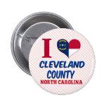 El condado de Cleveland, Carolina del Norte Pins