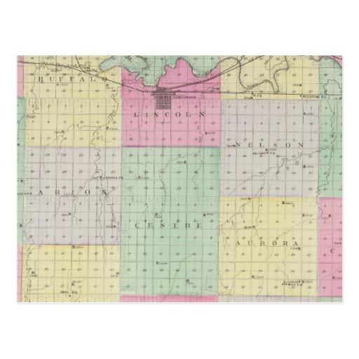 El condado de Cloud, Kansas Postal