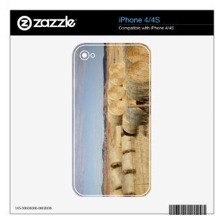El condado de Crook, balas de heno 2 Calcomanías Para El iPhone 4