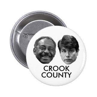 El CONDADO DE CROOK (parte 2) Pin Redondo 5 Cm