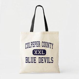 El condado de Culpeper - diablos azules - alto - C Bolsa