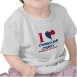 El condado de Cumberland, Carolina del Norte Camiseta