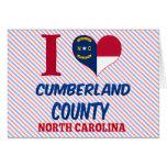 El condado de Cumberland, Carolina del Norte Tarjetas