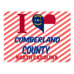 El condado de Cumberland, Carolina del Norte Tarjeta Postal