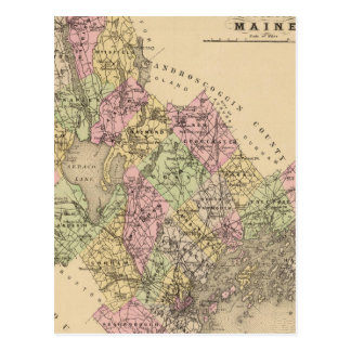 El condado de Cumberland, Maine Postal