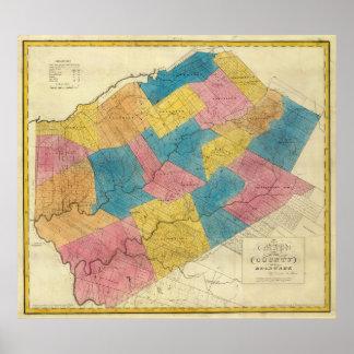 El condado de Delaware Póster