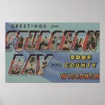 El condado de Door - escenas grandes de la letra Posters