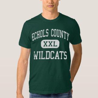 El condado de Echols - gatos monteses - alto - Playera