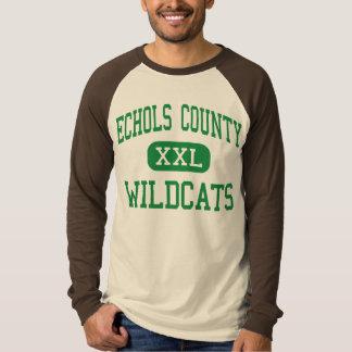 El condado de Echols - gatos monteses - alto - Remera