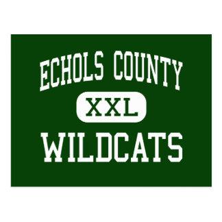 El condado de Echols - gatos monteses - alto - Postal