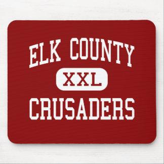 El condado de Elk - cruzados - católico - santo Ma Tapete De Raton