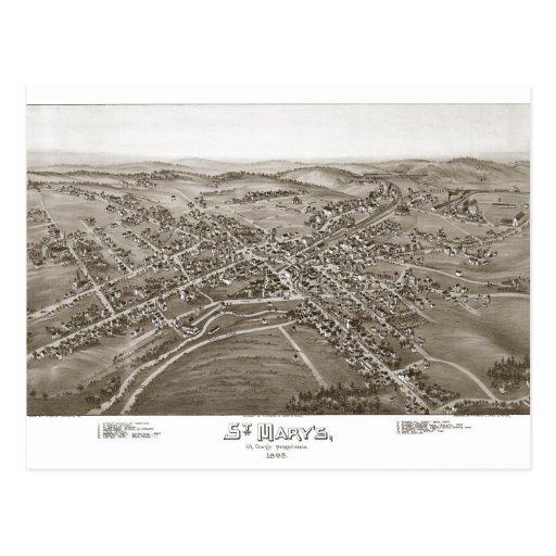 El condado de Elk de St Mary Postal