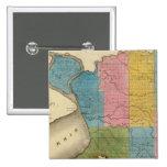 El condado de Erie Pin Cuadrado