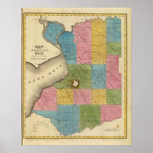 El condado de Erie Póster