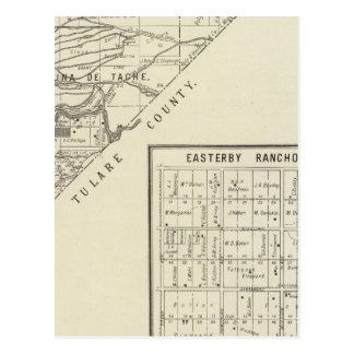 El condado de Fresno, California 11 Tarjeta Postal
