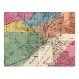 El condado de Fresno, California 31 Tarjetas Postales