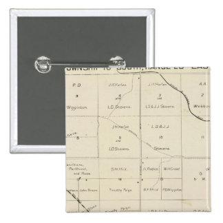 El condado de Fresno, California 33 Pin Cuadrado