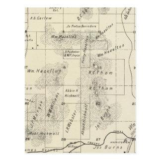 El condado de Fresno, California 5 Postales