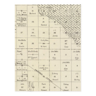 El condado de Fresno, California 6 Tarjeta Postal