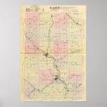 El condado de Gage, Nebraska Póster