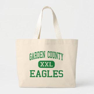 El condado de Garden - Eagles - altos - Oshkosh Ne Bolsa Tela Grande