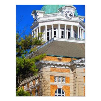 El condado de Giles, TN - tribunal Fotografía