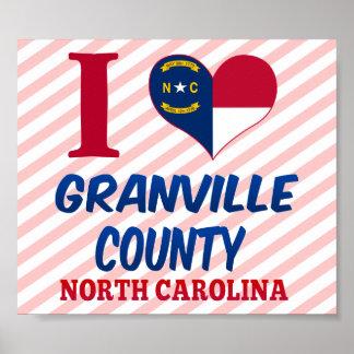 El condado de Granville, Carolina del Norte Impresiones