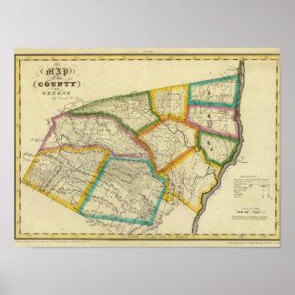 El condado de Greene Póster